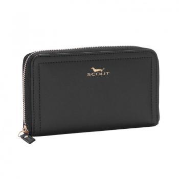 SCOUT Bags Zip Wallet Blake Black