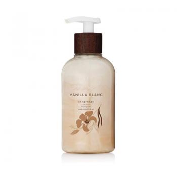 Thymes - Vanilla Blanc Hand Wash with Pump - Hydrating Liquid Hand Soap with Warm Madagascar Vanilla Scent - 8.25 Oz
