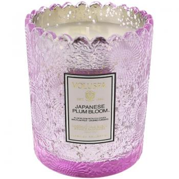 Voluspa Japanese Plum Bloom Boxed Candle VOL-72012