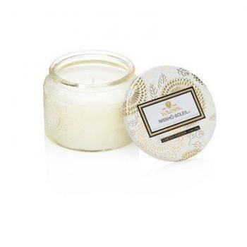 Voluspa Small Glass Jar Candle - Nissho Soleil