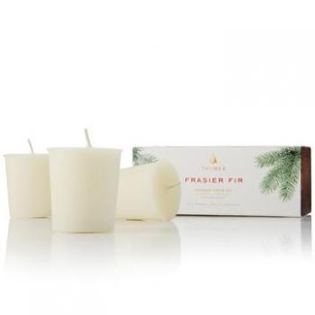 Thymes Frasier Fir Aromatic Votive Set