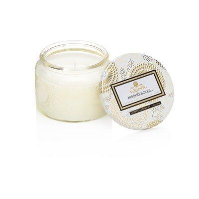 Voluspa Small Glass Jar Candle - Nissho Soleil