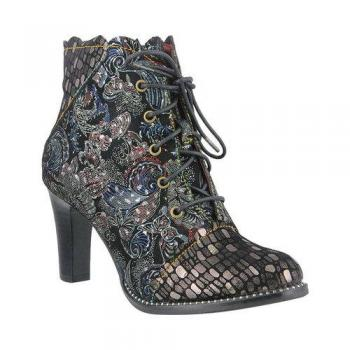 Glitterail Ankle Boot