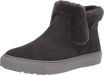 Women's Duffy Polar Plush  Suede Booties