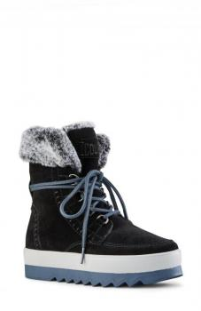 Women's Vanetta Faux Fur Trim Boots