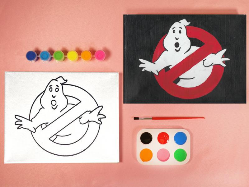 GHOST BUSTERS PAINT SET
