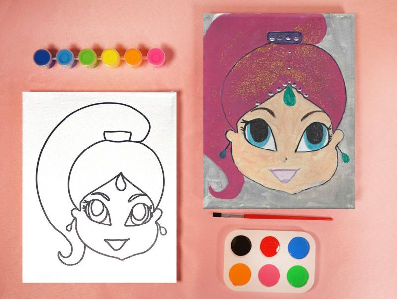 SHIMMER AND SHINE PAINT SET