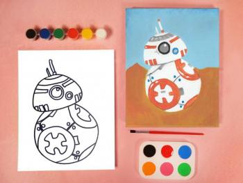 STAR WARS BB8 PAINT SET