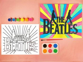BEATLES PAINT SET