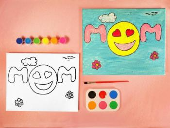 EMOJIS MOM PAINT SET