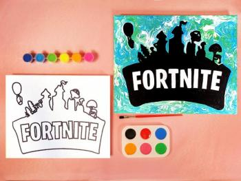 FORTNITE PAINT SET