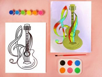 GUITAR PAINT SET
