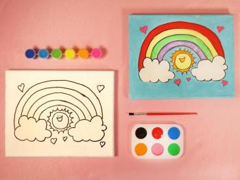 RAINBOW PAINT SET