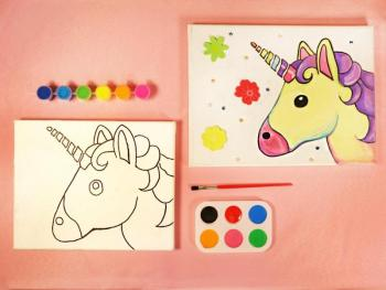 UNICORN 1 PAINT SET