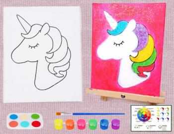 UNICORN 4 PAINT SET