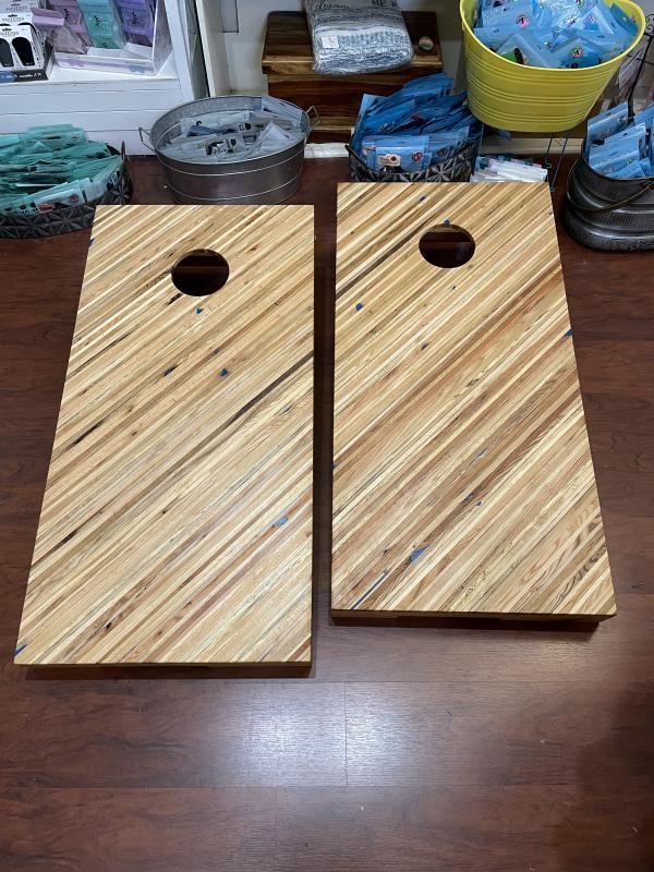 Reclaimed Wood Cornhole Set