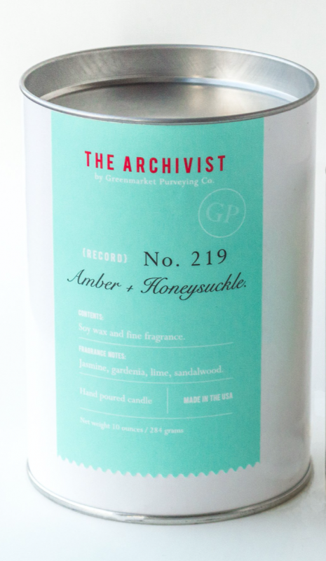 Amber and Honeysuckle Candle