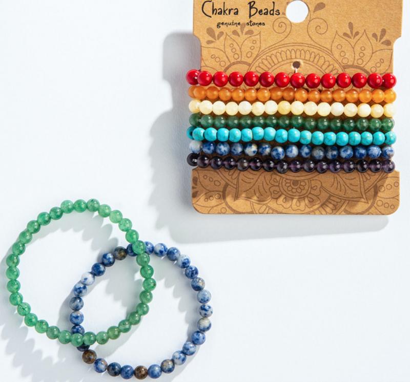 7 Chakra Bracelet Set