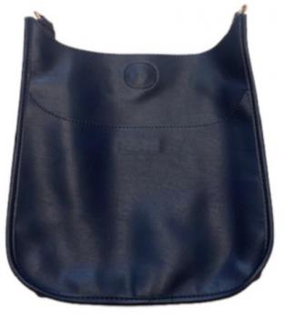 Large Vegan Leather Messenger Bag