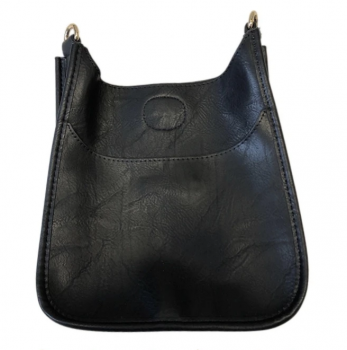 Mini Vegan Leather Messenger Bag
