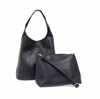 Midnight Molly Slouchy Hobo Handbag