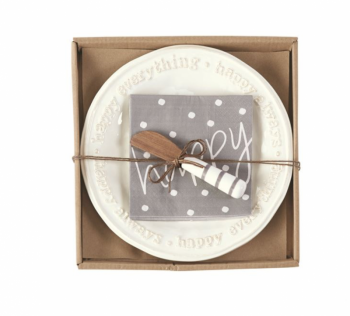 Mud Pie Happy Cheese Set