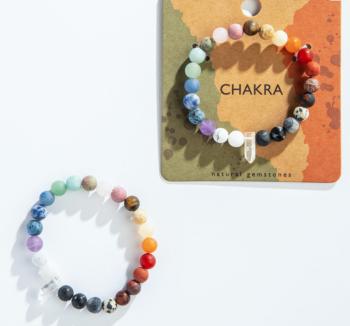Chakra Natural Gemstones Bracelet