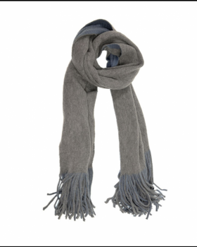Reversible Scarf - Slate Blue