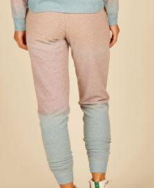 Grey/Peach/Lavender Ombre Hacci Joggers
