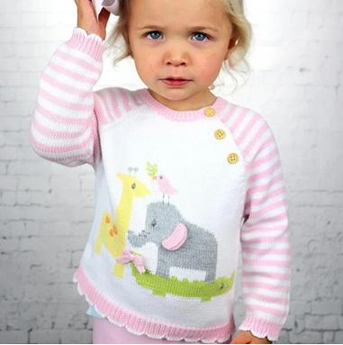 Pink Nursery Sweater