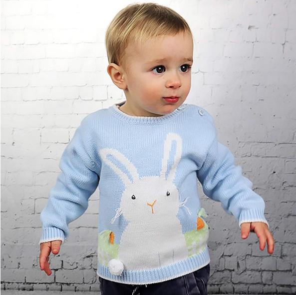 Zubels Boy Bunny Sweater