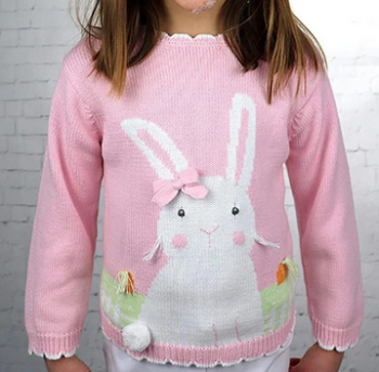 Zubels Girl Bunny Sweater