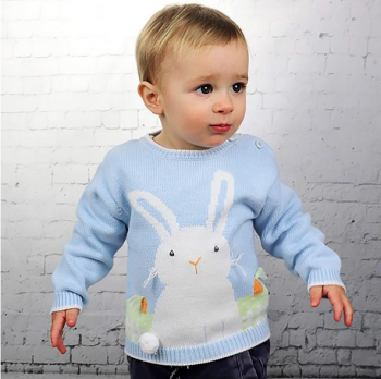 Zubels Boy Bunny Sweater