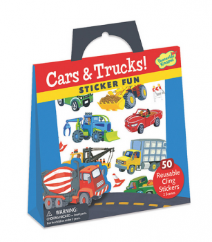 Cars & Trucks Sticker Tote