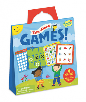 Take-Along Games Sticker Tote