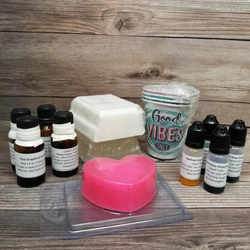 Melt & Pour Soap Making Virtual Class