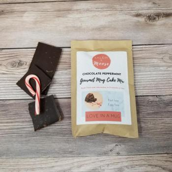 Chocolate Peppermint Mug Cake Mix - Nut Free, Egg Free