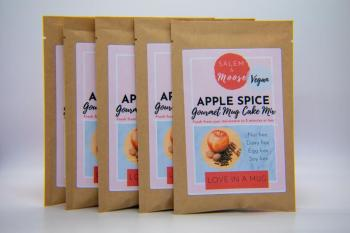Apple Spice Mug Cake Mix - Vegan, Nut Free, Egg Free, Soy Free