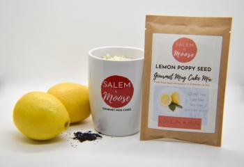 Lemon Poppyseed Mug Cake Mix - Gluten Free, Egg Free, Soy Free