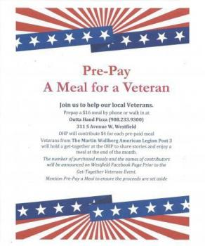 Meal for a Veteran