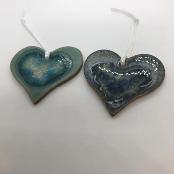Heart Ceramic Ornaments