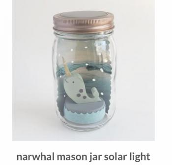 Solar Powered Nightlight