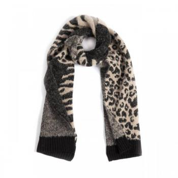 Blush Animal Print Scarf