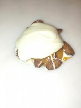 White Chocolate Almond Turtle
