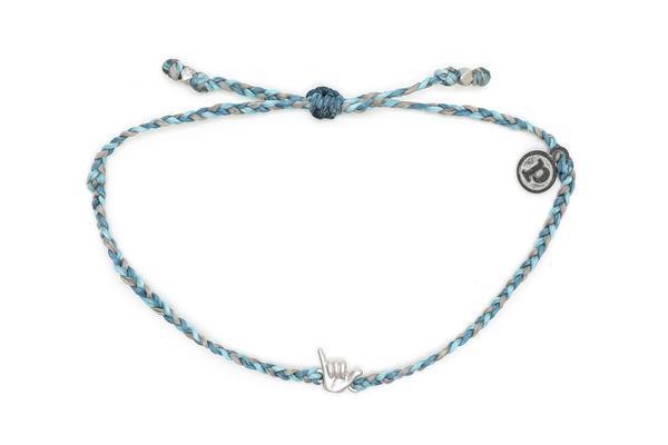 Pura Vida Shaka Charm Bracelet