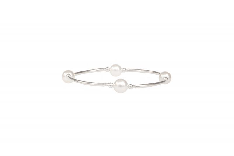 Blessing Bracelet - White Pearl