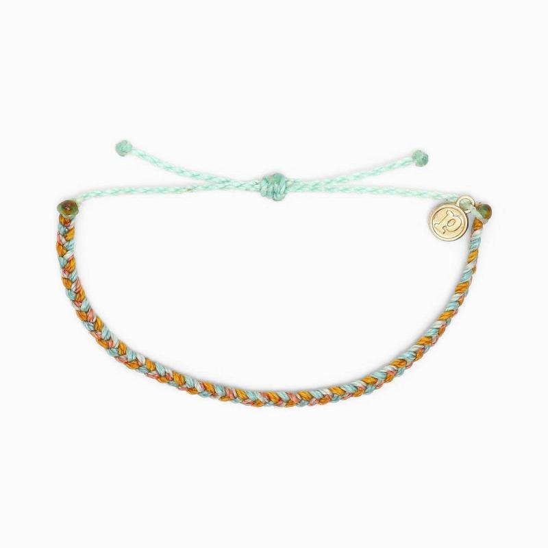 Pura Vida Muti Mini Braided Bracelet in Beachy