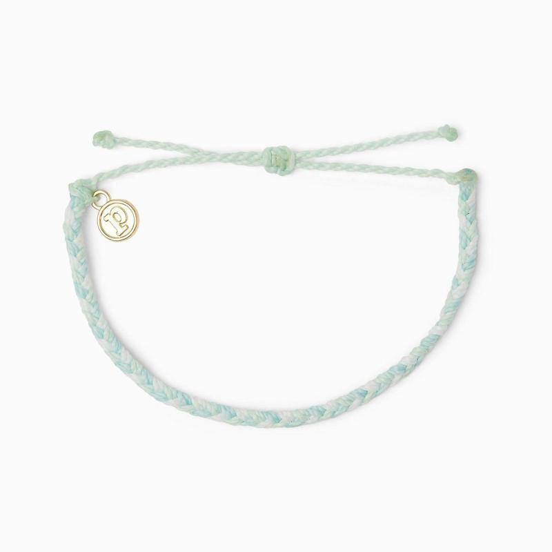 Pura Vida Multi Mini Braided Bracelet in Cool Shorline