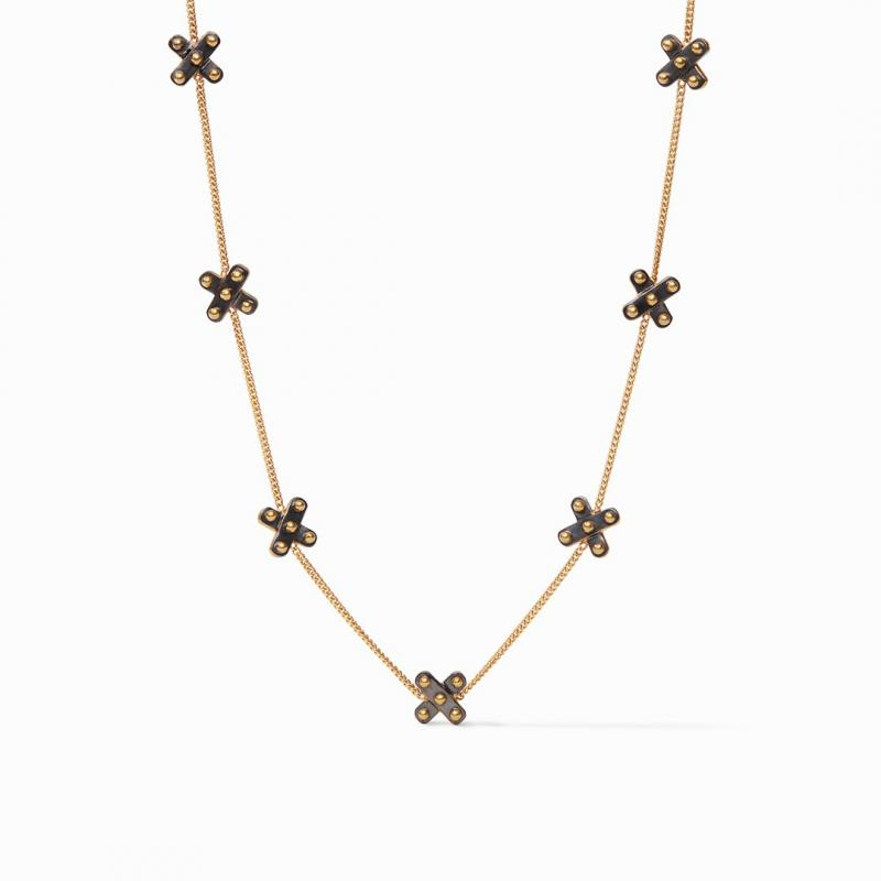 Julie Vos SoHo Delicate Station Necklace