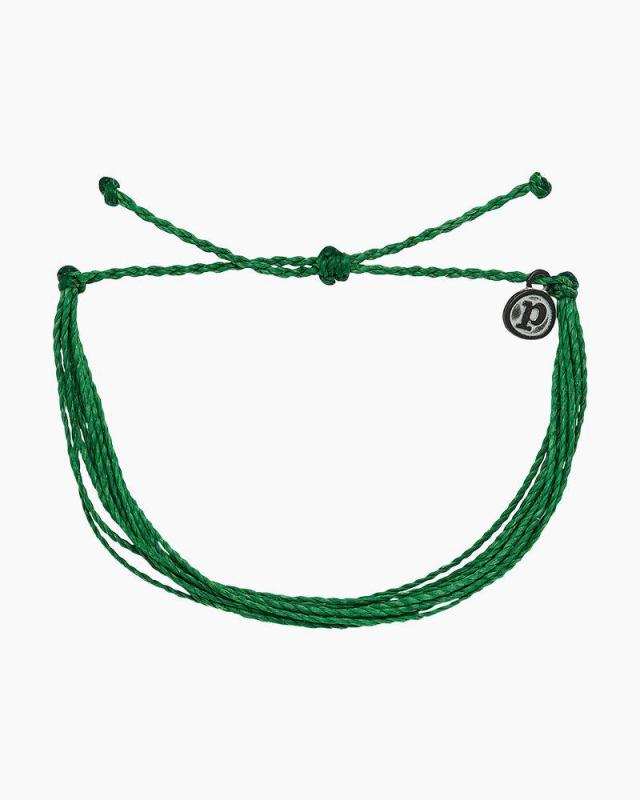 Pura Vida  Dark Green Original Bracelet